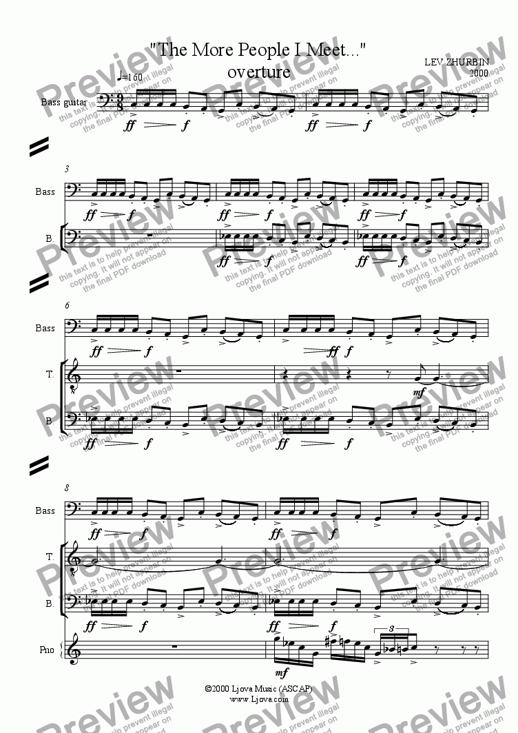 page one of Overture