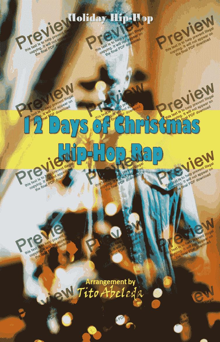 12 Days of Christmas Hip-Hop Rap - Download Sheet Music PDF file