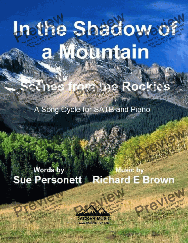 page one of In the Shadow of a Mountain