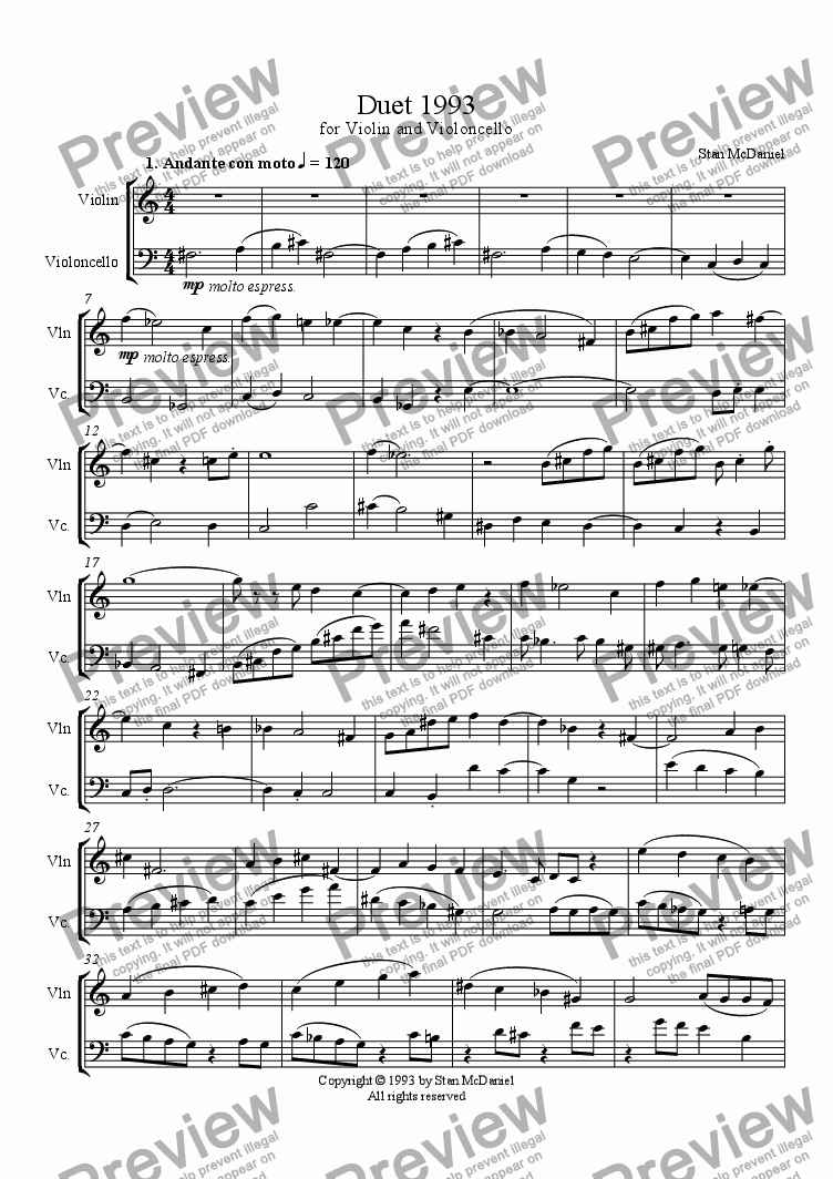 page one of Duet1993ASALTTEXT