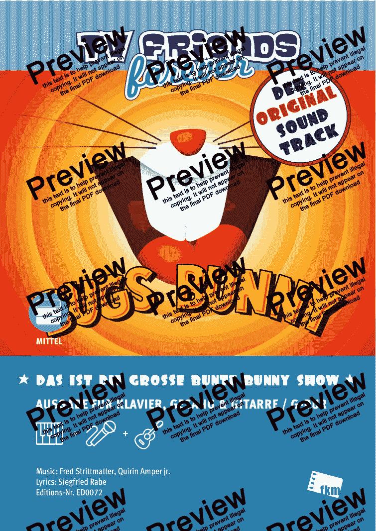 Große Bunte Bunny Show