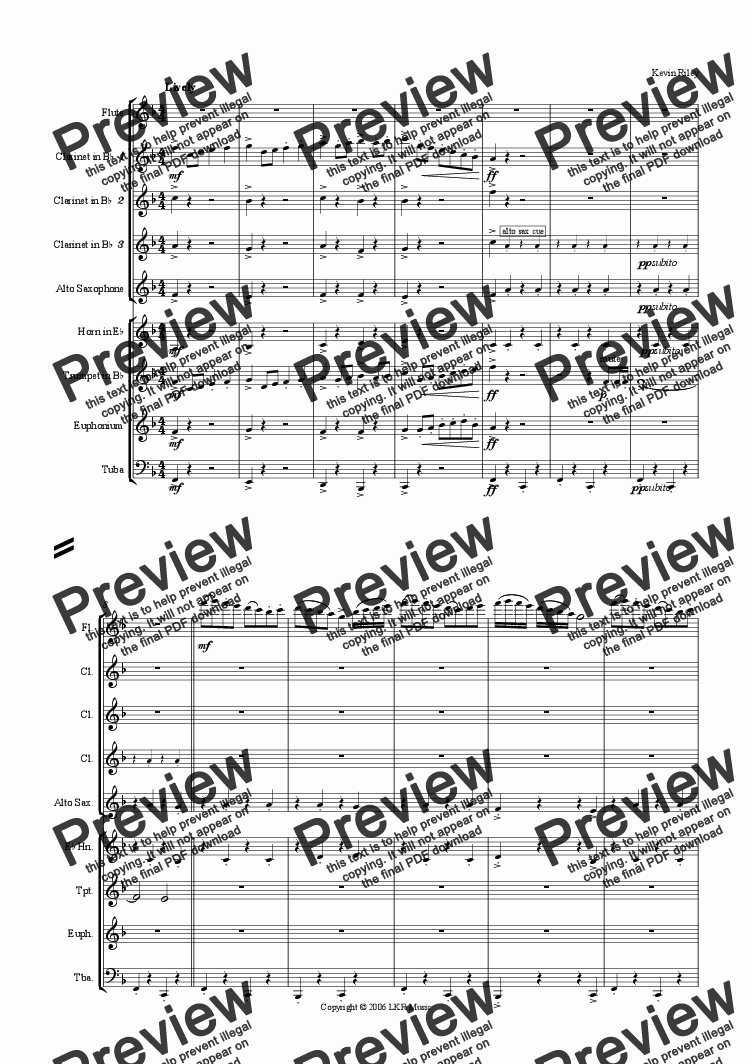 page one of A Flute's Delight
