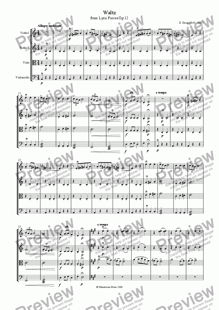 page one of Waltz
