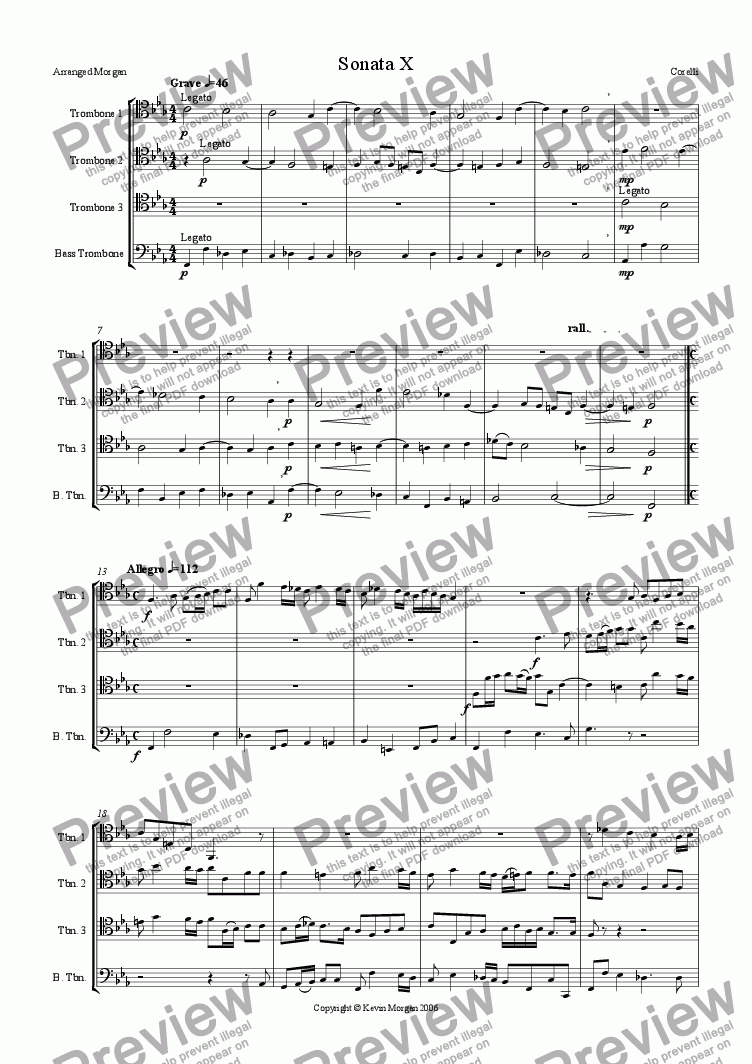 page one of Sonata No. 10