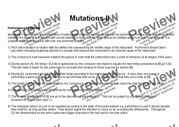 page one of Mutations IIASALTTEXT