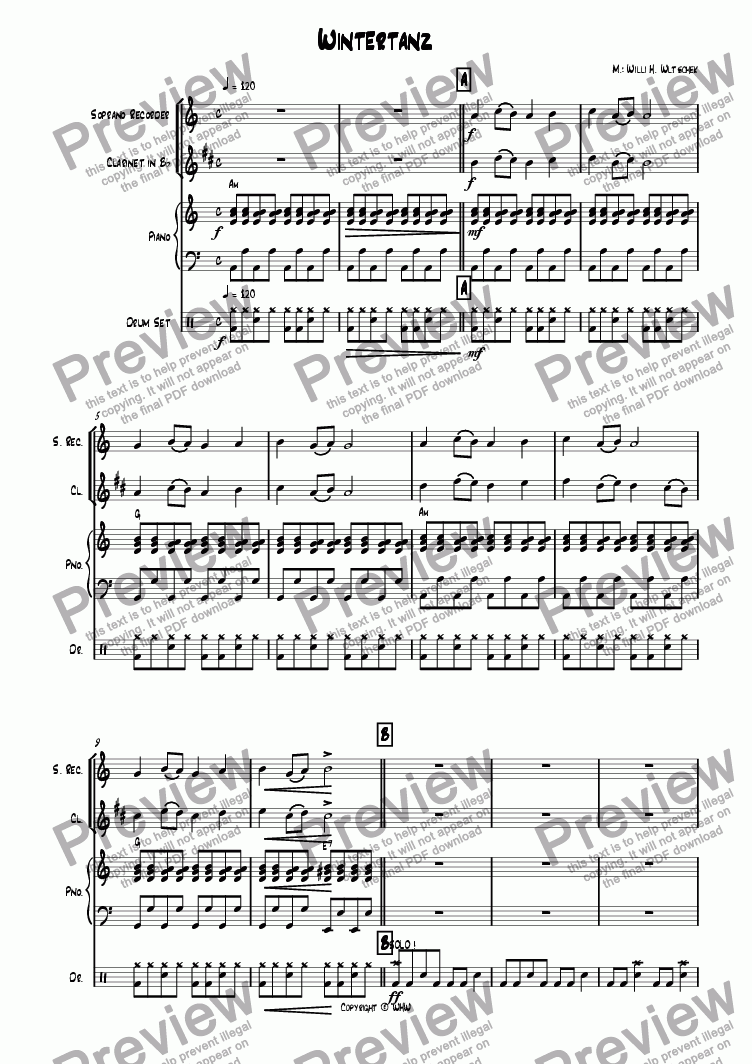 page one of WINTERTANZASALTTEXT
