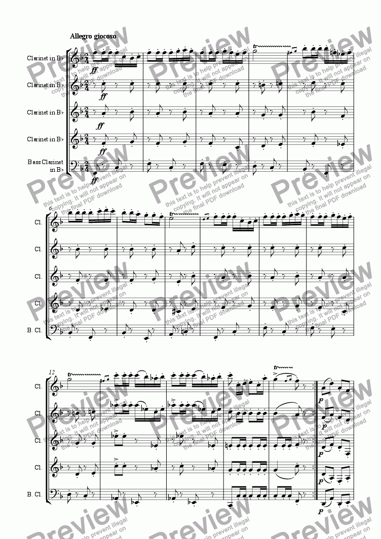 page one of Carmen, Pr�ludeASALTTEXT