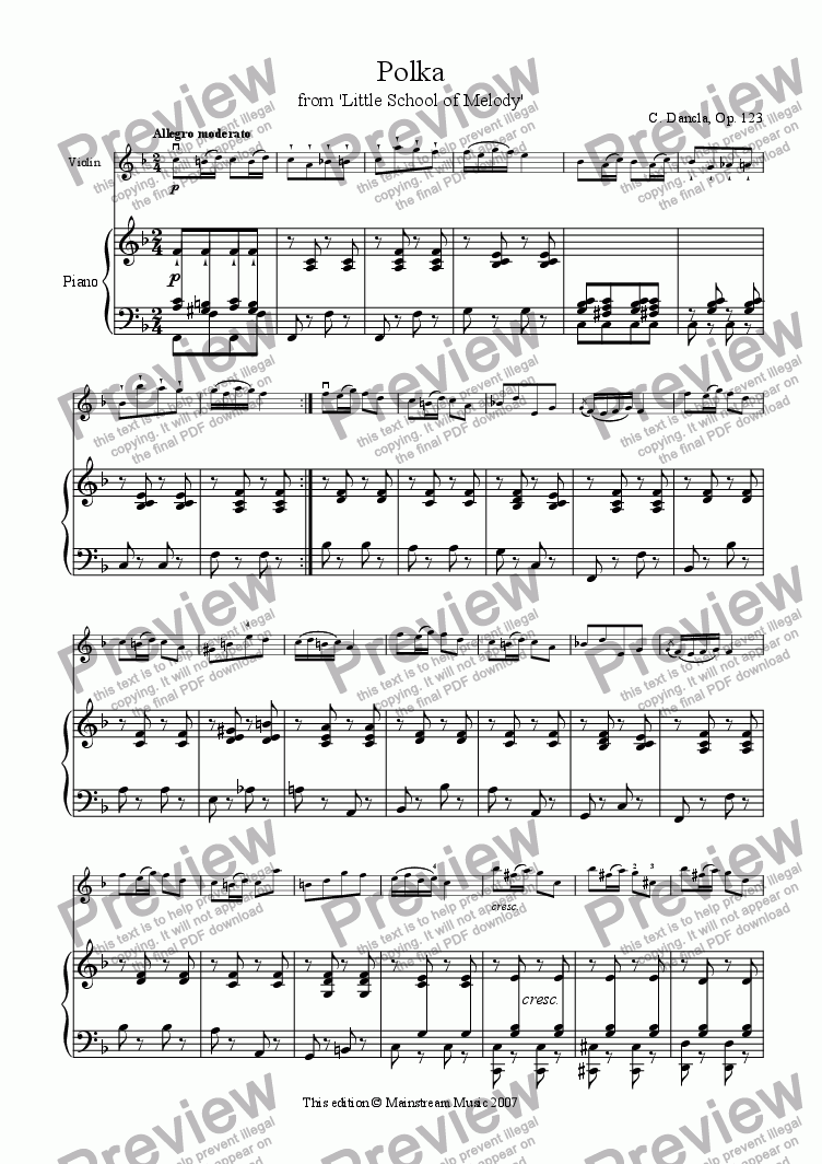 page one of Polka