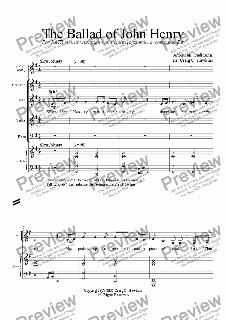 Worksheets John Henry Worksheets the ballad of john henry download sheet music pdf file which method viewing should i use