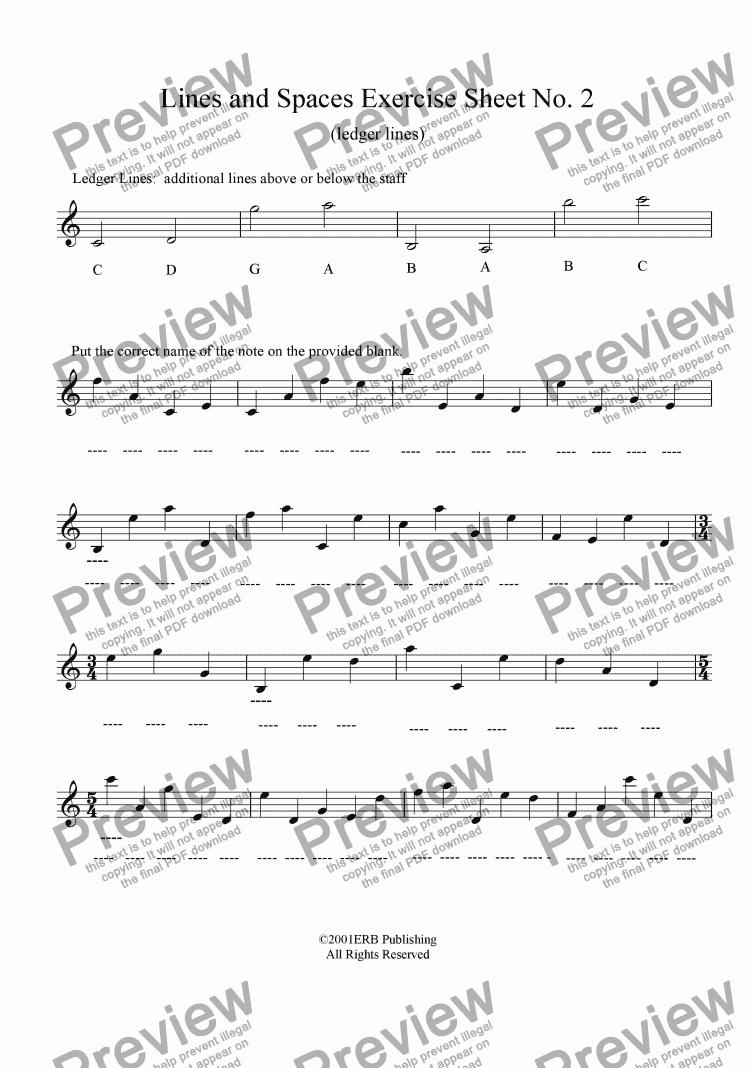 Worksheets Ledger Line Worksheet ledger line exercise which method of viewing music should i use