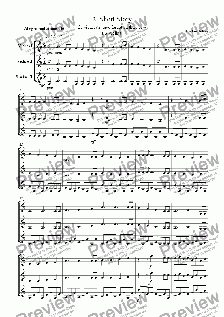 page one of Violin Trio 02