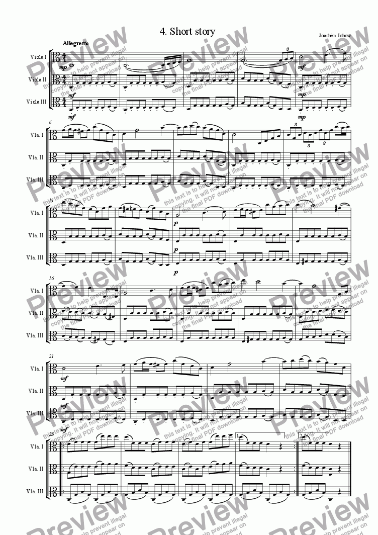 page one of Viola Trio 04
