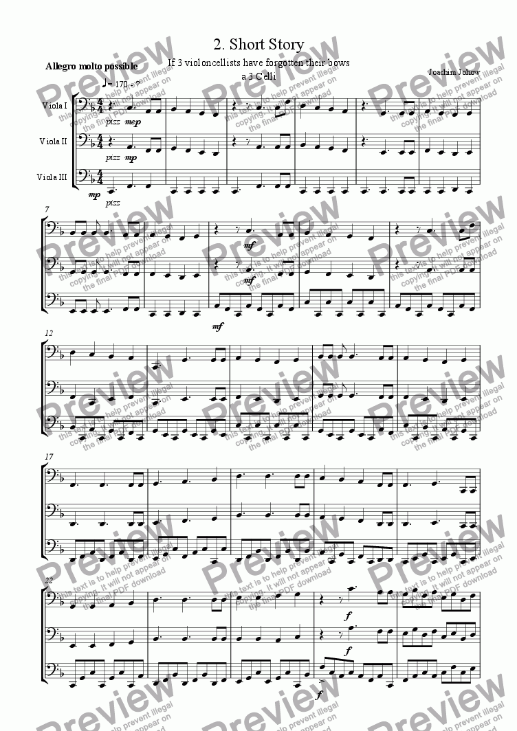 page one of Cello Trio 02