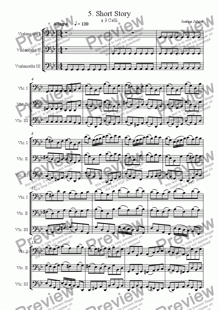 page one of Cello Trio 05ASALTTEXT