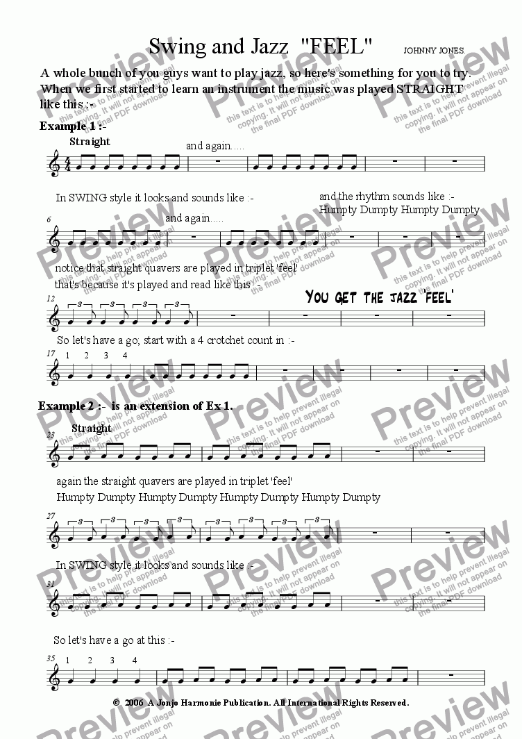 page one of 1 Beginner's Course  Swing and Jazz  Tenor Sax