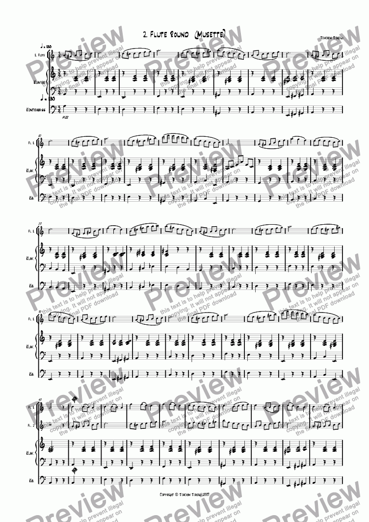 page one of Flute Round 02 (Musette)