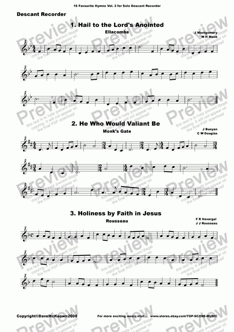Descant Time Pieces For Descant//Soprano Recorder Recorder, Volume 1 Soprano