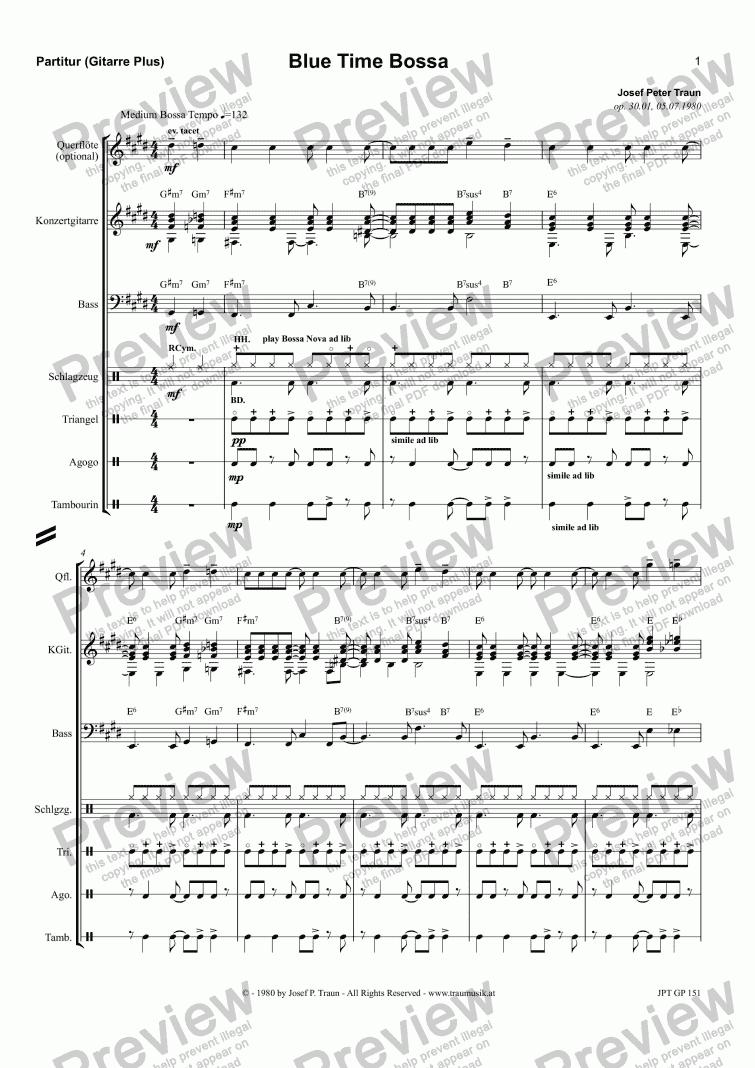 kind of blue score pdf