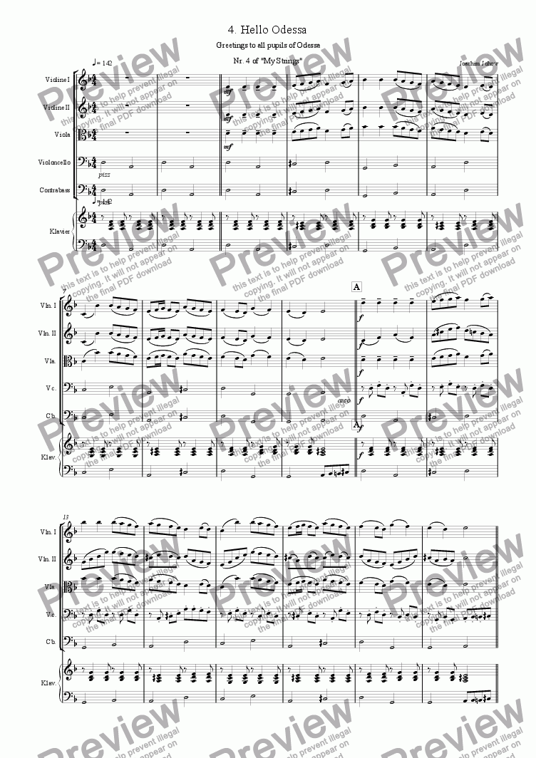 page one of My Strings 04 (Hello Odessa)ASALTTEXT
