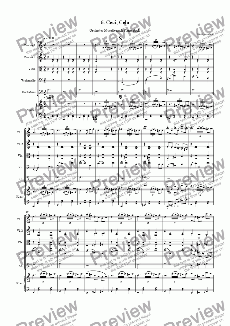page one of Orchester-Musette 06 (Ceci,Cela)