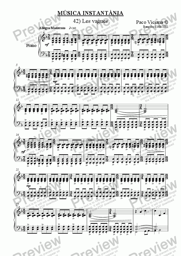 page one of 150-Música Instantània (42-Les vagues)