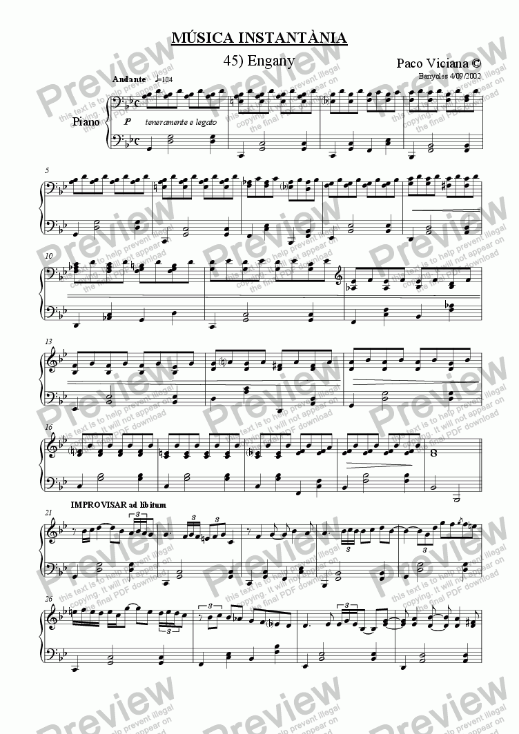 page one of 155-Música Instantània (45-Engany)ASALTTEXT