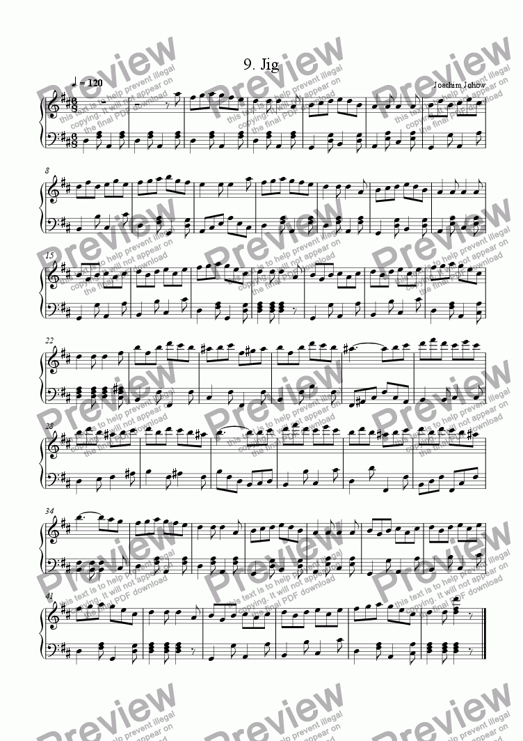 page one of New Harp Book 09 (Jig)