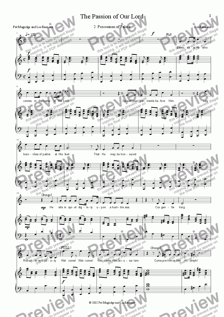 page one of Passion: 2