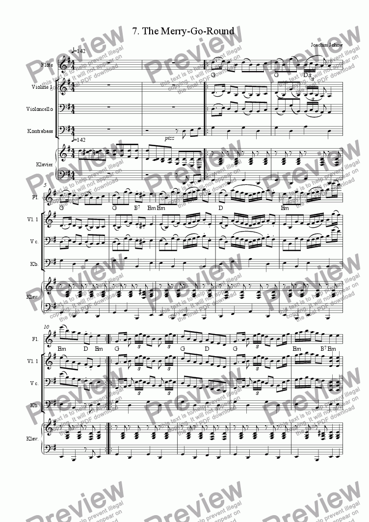 page one of Spring Fiddler 07 (The merry-go-round)