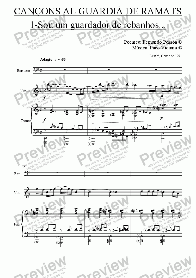 page one of 033-036 Cançons al guardià de ramats (portugues)-baritone version