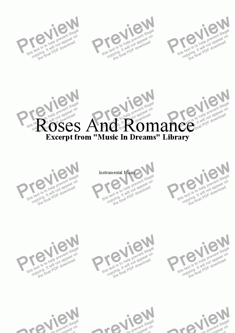 page one of Roses And RomanceASALTTEXT