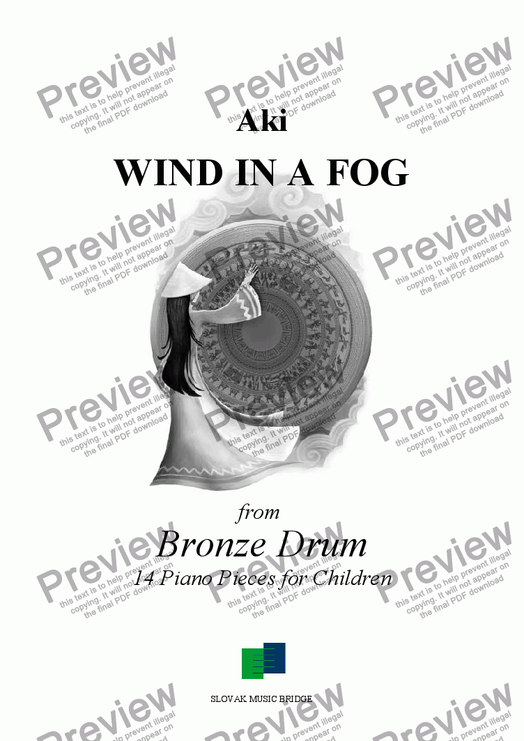 page one of Bronze Drum > Wind in a Fog