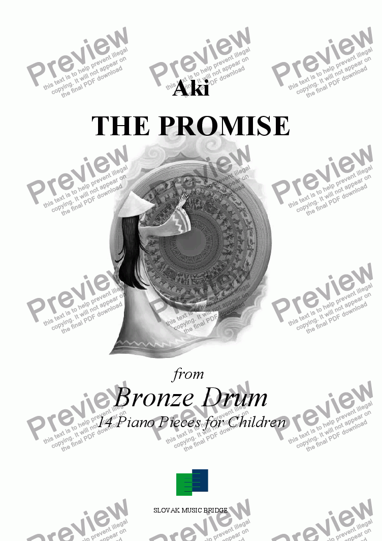 page one of Bronze Drum > The Promise