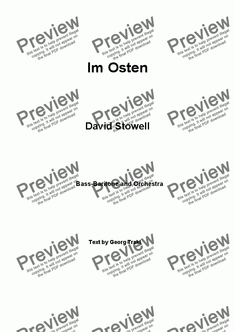 page one of Im Osten