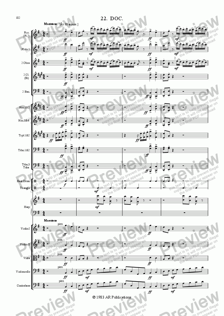 page one of Ballet: Snow White (Act 3 #2 'Doc')
